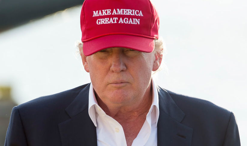 Satire The Right Trump For America The Buff And Blue